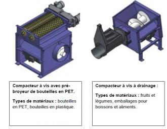 Compacteur fixe à vis - Devis sur Techni-Contact.com - 5