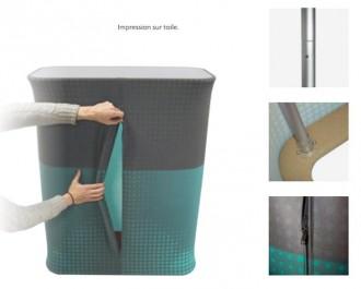 Comptoir aluminium pour stand - Devis sur Techni-Contact.com - 2