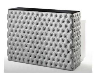 Comptoir caisse baroque capitonné - Devis sur Techni-Contact.com - 1