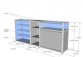 Comptoir caisse sur mesure - Devis sur Techni-Contact.com - 3