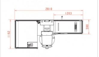 Comptoir caisse tapis pour super marché - Devis sur Techni-Contact.com - 2