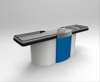 Comptoir de caisse pour commerce - Devis sur Techni-Contact.com - 1