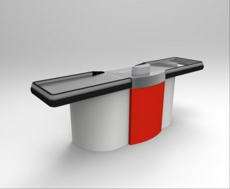 Comptoir de caisse pour commerce - Devis sur Techni-Contact.com - 3