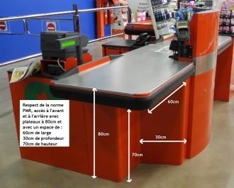 Comptoir de caisse pour commerce - Devis sur Techni-Contact.com - 4