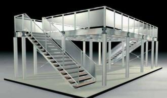 Conception Mezzanine aluminium - Devis sur Techni-Contact.com - 1