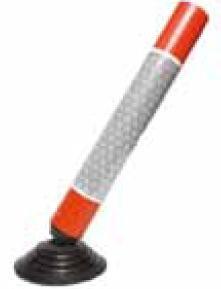 Cône de signalisation à base élastique - Devis sur Techni-Contact.com - 1
