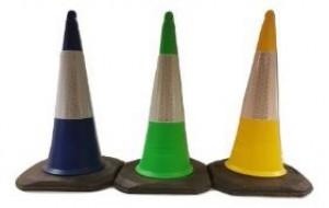 Cone de signalisation ECO FOOT COLOR CLASSE 2  - Devis sur Techni-Contact.com - 1