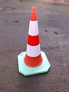 Cône de signalisation routière - Devis sur Techni-Contact.com - 2
