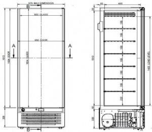Congélateur armoire vitrée - Devis sur Techni-Contact.com - 5
