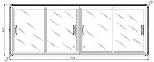 Congélateur coffre à vitre coulissante - Devis sur Techni-Contact.com - 6