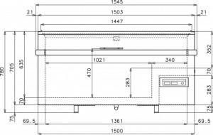 Congélateur coffre à vitre coulissante - Devis sur Techni-Contact.com - 8