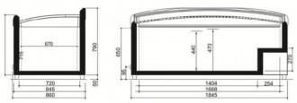 Congélateur présentoir vitré - Devis sur Techni-Contact.com - 10