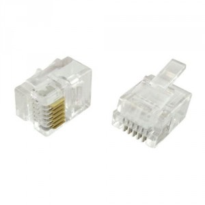 Connecteur 6/6 RJ12 sachet de 10 - Devis sur Techni-Contact.com - 1