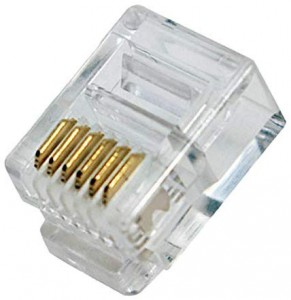 Connecteur 6/6 RJ12 sachet de 10 - Devis sur Techni-Contact.com - 3