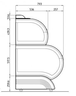 Conservateur à glace vitré double niveau - Devis sur Techni-Contact.com - 5