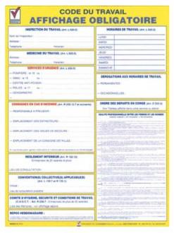 Consigne code du travail - Devis sur Techni-Contact.com - 1