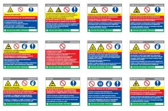 Consigne de sécurité cuisine personnalisée - Devis sur Techni-Contact.com - 1