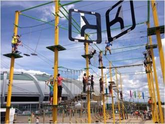 Constructeur parcours acrobatique pour enfants - Devis sur Techni-Contact.com - 1