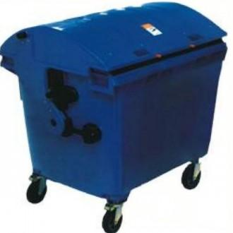 Conteneur à déchets 4 roues en plastique - Devis sur Techni-Contact.com - 2