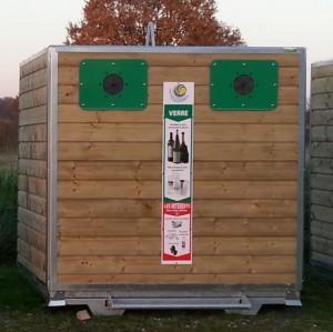Colonne à déchets avec portes - Devis sur Techni-Contact.com - 1