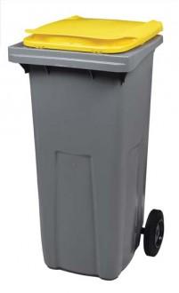 Conteneur à déchets roulant 240L - Devis sur Techni-Contact.com - 5