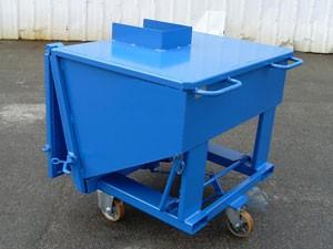 Conteneur déchets à fond incliné - Devis sur Techni-Contact.com - 2