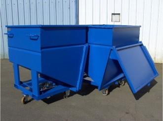 Conteneur déchets à fond incliné - Devis sur Techni-Contact.com - 5