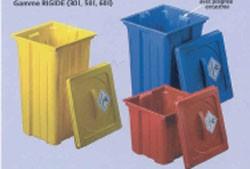 Conteneur pour déchets d'activités de soins - Devis sur Techni-Contact.com - 1