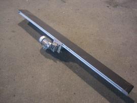 Convoyeur à bande en profilé d'aluminium - Devis sur Techni-Contact.com - 1