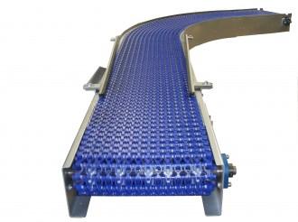 Convoyeur à chaîne modulaire diamètres d'enroulement 25 ou 100 mm - Devis sur Techni-Contact.com - 5