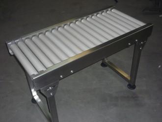 Convoyeur acier inox à rouleaux - Devis sur Techni-Contact.com - 1