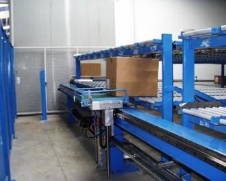 Convoyeur rouleaux asservissement automatique d'un stockeur - Devis sur Techni-Contact.com - 1