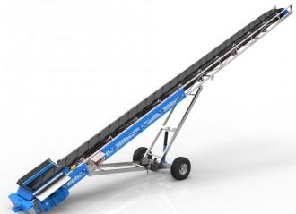 Convoyeur sauterelle à châssis tubulaire - Devis sur Techni-Contact.com - 3