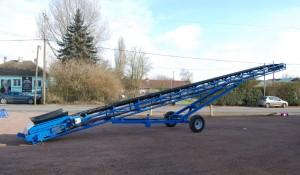 Convoyeur sauterelle acier pour manutention agricole - Devis sur Techni-Contact.com - 1