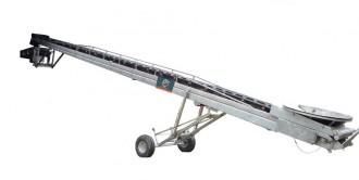 Convoyeur sauterelle mobile inox - Devis sur Techni-Contact.com - 1