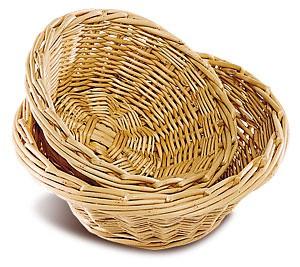 Corbeille à pain ronde osier - Devis sur Techni-Contact.com - 1