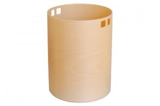 Corbeille à papier en bois - Devis sur Techni-Contact.com - 1