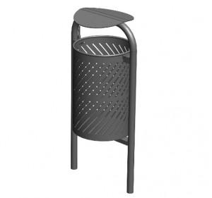 Corbeille acier basculante - Devis sur Techni-Contact.com - 2
