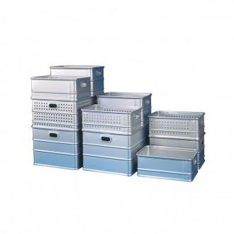 Corbeille aluminium perforée - Devis sur Techni-Contact.com - 1