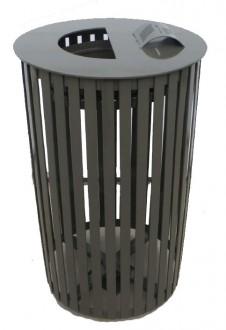 Corbeille cylindrique en métal - Devis sur Techni-Contact.com - 1