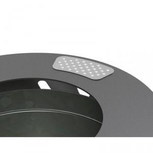 Corbeille de propreté acier 80 L - Devis sur Techni-Contact.com - 3