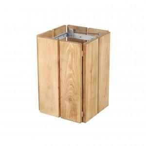 Corbeille de propreté en bois - Devis sur Techni-Contact.com - 1
