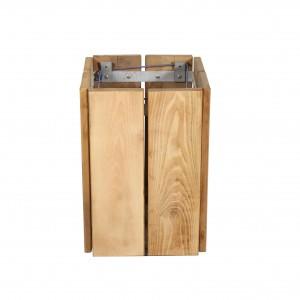 Corbeille de propreté en bois - Devis sur Techni-Contact.com - 2