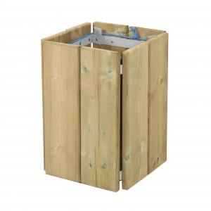 Corbeille de propreté en bois - Devis sur Techni-Contact.com - 3
