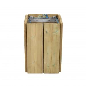 Corbeille de propreté en bois - Devis sur Techni-Contact.com - 4