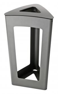 Corbeille de propreté vigipirate en acier - Devis sur Techni-Contact.com - 1