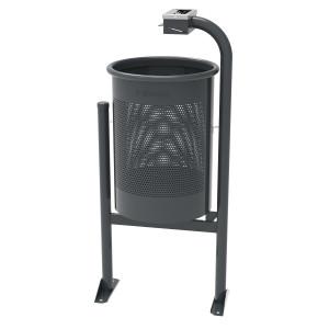 Corbeille de ville en acier 60 litres - Devis sur Techni-Contact.com - 1