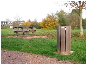 Corbeille de ville ronde 70 litres - Devis sur Techni-Contact.com - 3