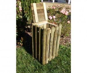 Corbeille extérieur bois - Devis sur Techni-Contact.com - 2