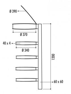 Corbeille vigipirate 4 arceaux - Devis sur Techni-Contact.com - 2
